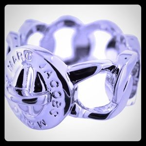 Marc by Marc Jacobs Womens Katie Silver Ring$58.00